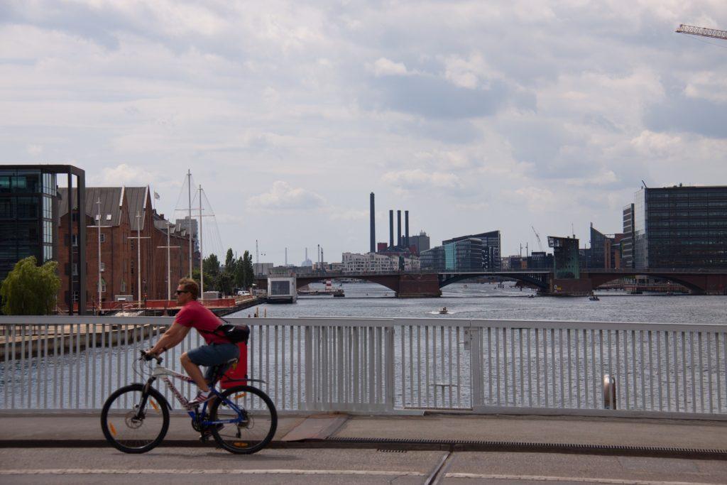 Fietser Kopenhagen