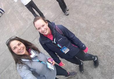 Wandelaars Natasja en Marion