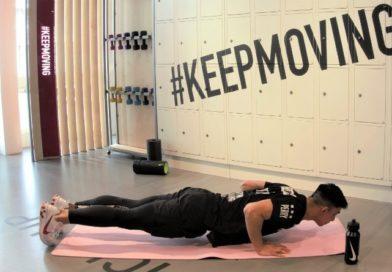 Fitness oefening voor thuis