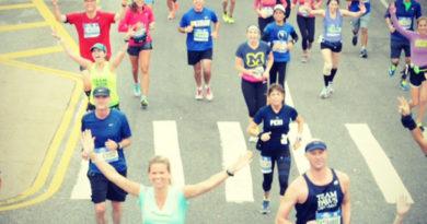 New York Marathon finish