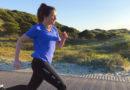 Vrouw aan het hardlopen