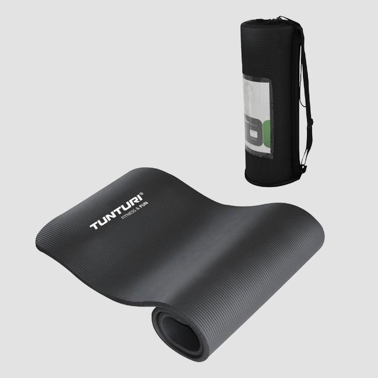 tunturi-fitnessmat-zwart