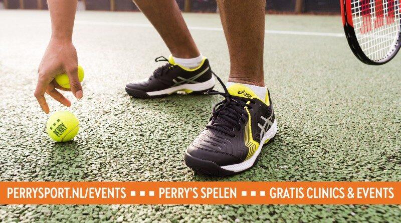 Kom 20 juni naar de tennisclinic voor beginners