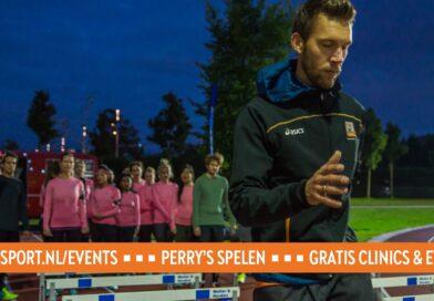 Perry x ASICS running clinic in Utrecht - zien we je 12 augustus